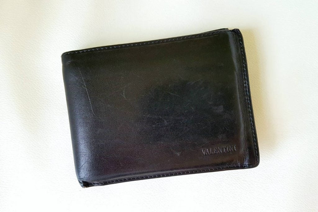 Mens Valentini Leather Wallet - Top 3