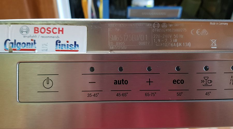 Bosch Dishwasher SD6P1B - 01