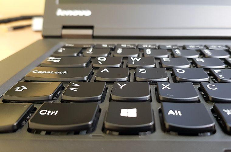 Lenovo ThinkPad T440p - Keyboard close-up