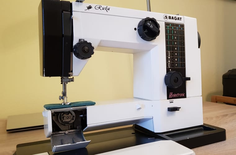 My 30+ year old Ruza Bagat Seletronic sewing machine