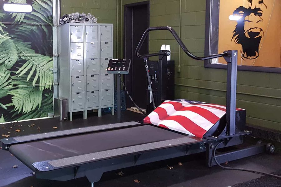 Tuff Tread Peak Performance treadmill in a facility