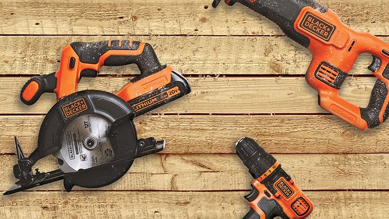 blackdecker 20v tool combo
