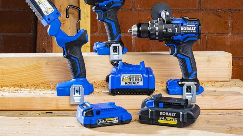 kobalt xtr 24v tool combo