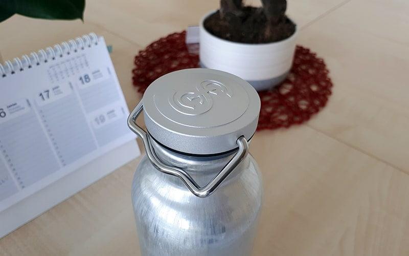 SIGG original aluminum bottle - office 1
