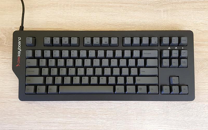 Das Keyboard 4C TKL - top view 1
