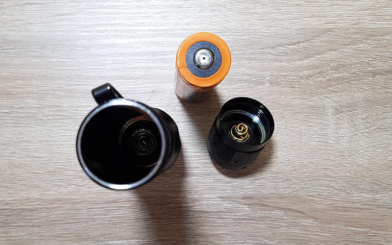 Fenix TK16 V2 - double spring design