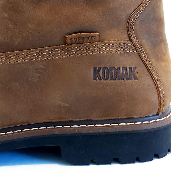 Kodiak McKinney Work Boot - heel