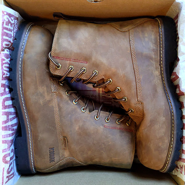 Kodiak McKinney Work Boot - package