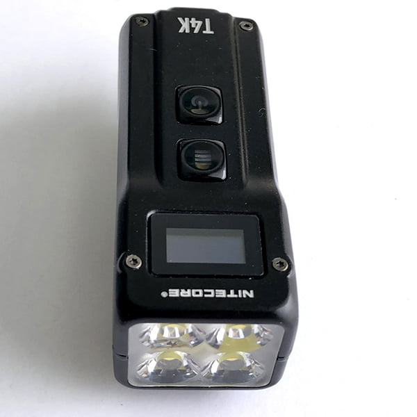 Nitecore T4K from front