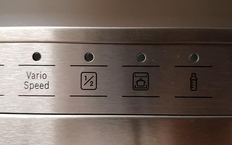 bosch dishwasher settings 1