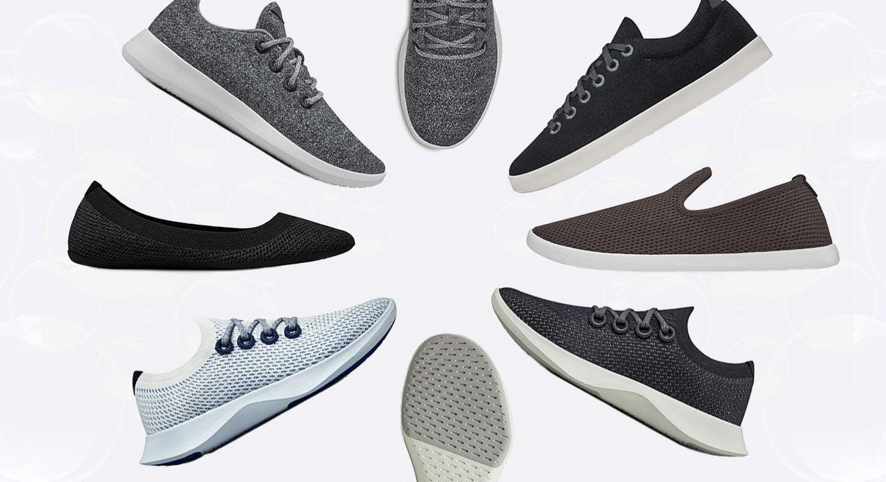 multiple allbirds shoes - feature image