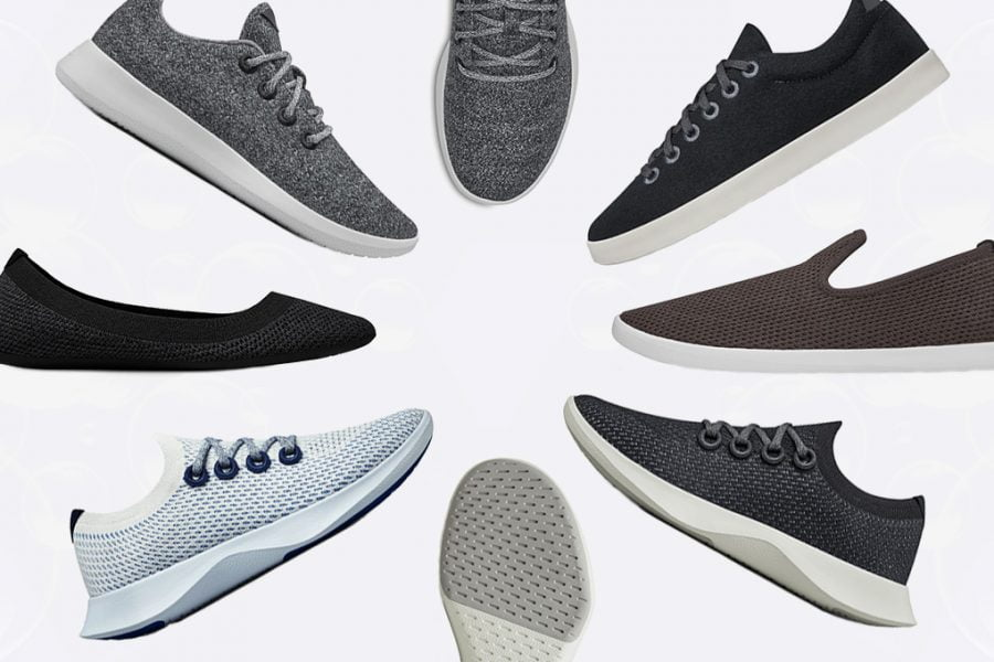 multiple allbirds shoes - feature image