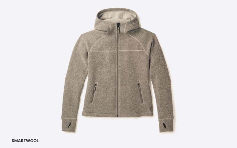 women's smartwool fleece sweater