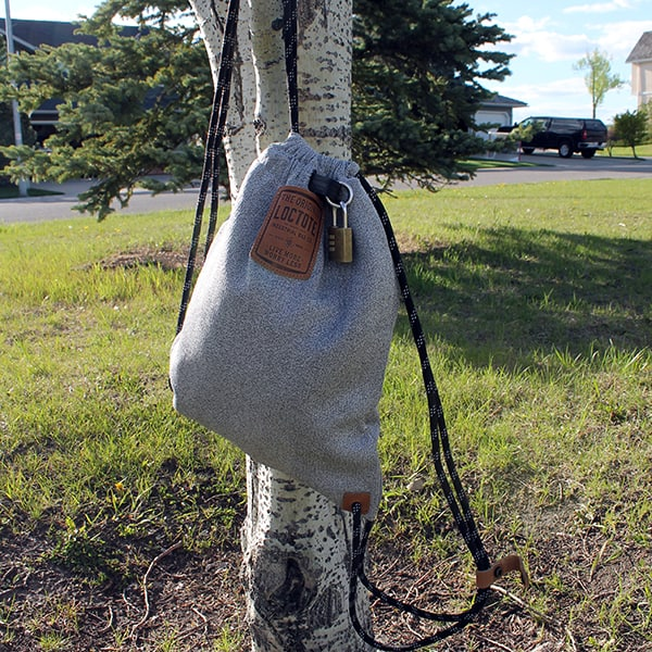 Flak Sack II - on a tree 2